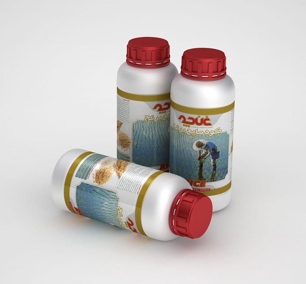 تصویر از کود مایع مخصوص برنج