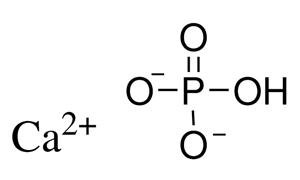 تصویر از کلسیم هیدروژن فسفات