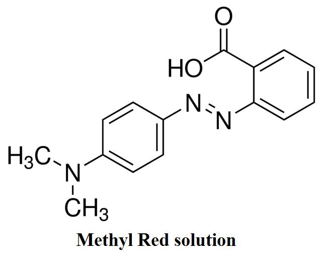 تصویر از محلول متیل رد
