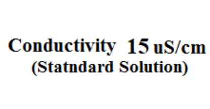 تصویر محلول استاندارد هدایت الکتریکی 15