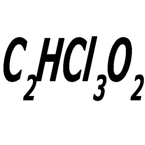 تصویر از تری کلرو استیک اسید
