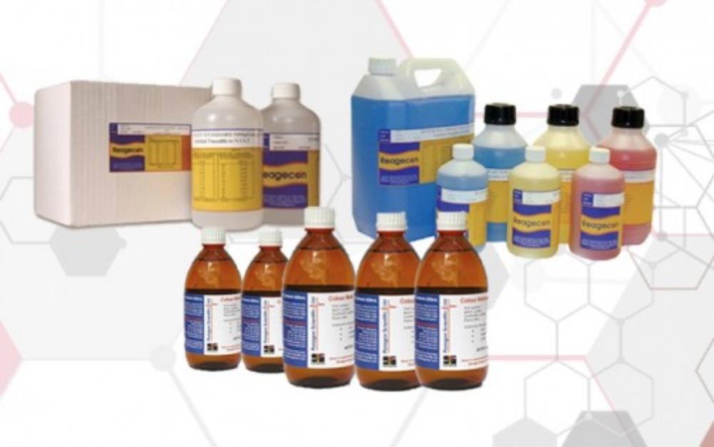 محلول های استاندارد کدورت سنجی