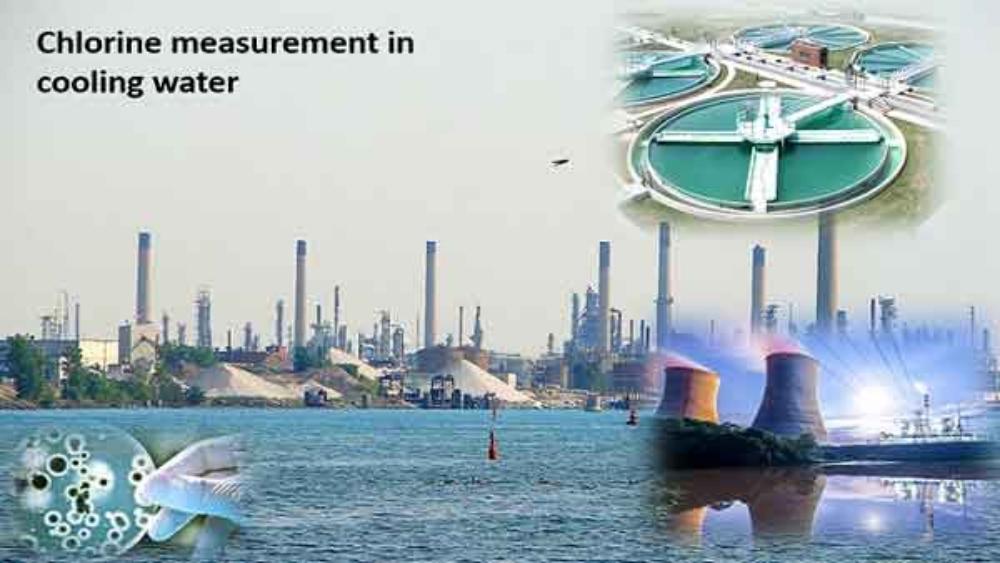 اندازه گیری کلر در آب خنک کننده