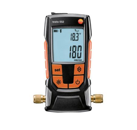 تصویر فشار سنج دیجیتال تستو مدل Testo 552